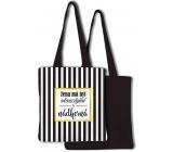 Nekupto Buď Jedinečná nákupná taška Pruhy