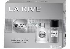 La Rive Brave toaletná voda pre mužov 100 ml + deodorant sprej 150 ml, darčekový set