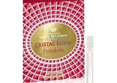 Marina De Bourbon Cristal Royal Passion parfémovaná voda pro ženy 1 ml s rozprašovačem, Vialka