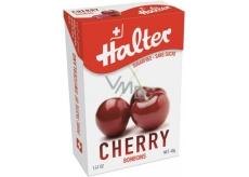 Halter Cherry - Višňa cukríky bez cukru, s prírodným sladidlom Izomalt, vhodné aj pre diabetikov 40 g