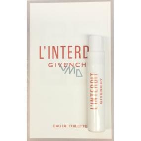 Givenchy L'Interdit toaletná voda pre ženy 1 ml vialka