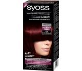 Syoss Professional barva na vlasy 4 - 22 šarlatově rudý