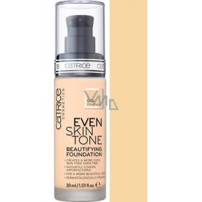 Catrice Even Skin Tone Beautifying Foundation make-up 010 Even Vanilla 30 ml