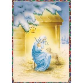 Nekupto Pohlednice Vánoční vzor 2 V32 PA 15 x 11 cm