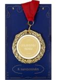 Albi Papierové prianie do obálky Prianie s medailí - Oslávenec roka W