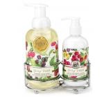 Michel Design Works Lesné plody peniace tekuté mydlo 530 ml + mlieko na ruky a telo 236 ml kozmetická sada starostlivosti o ruky
