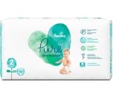 Pampers Pure Protection veľkosť 2, od 4-8 kg plienkové nohavičky 39 kusov
