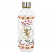Epee Merch Hra o Tróny Game of Thrones Hydro Plastová fľaša s licenčným motívom, objem 850 ml
