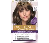 Loreal Paris Excellence Cool Creme farba na vlasy 6.11 Ultra popolavá tmavá blond
