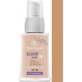 Dermacol Elixir SPF15 make-up 03 Omlazující liftingový 30 ml