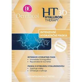 Dermacol Hyaluron Therapy 3D intenzívne hydratačné a remodelačný maska 2 x 8 g