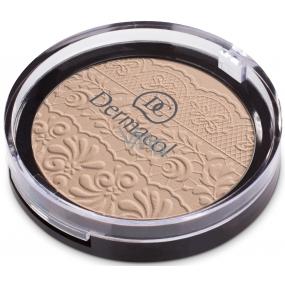 Dermacol Compact Powder zmatňujúci kompaktný púder 04 8 g