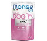 Monge Dog Grill bravčová kapsička 100 g