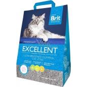 Brit Fresh for Cats Excellent Ultra Bentonite přírodní hrudkujicí stelivo pro kočky 5 kg
