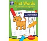 Ditipo Maľovanky so samolepkami Prvé anglické slová k výučbe angličtiny pre deti 4+ 24 strán