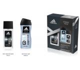 Adidas Dynamic Pulse parfémovaný deodorant sklo pro muže 75 ml + sprchový gel 250 ml, kosmetická sada