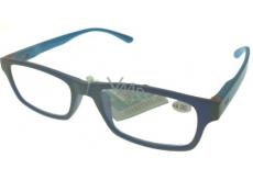 Okuliare diop.plast. + 4 modré svetlo modré stranice MC2151