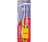Colgate Zig Zag Flex Medium střední zubní kartáček 1 + 1