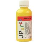 JP arts Farba na textil na svetlé materiály, Glitrové 1. Žltá 50 g