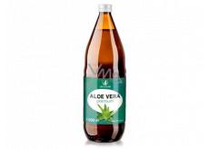 Allnature Aloe Vera Premium čistá šťava v prémiovej kvalite pomáha detoxikovať organizmus, doplnok stravy 1000 ml