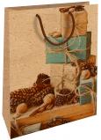 Nekupto Darčeková Kraftová taška 28 x 37 cm Vianočné Darčeky 603 WKHL