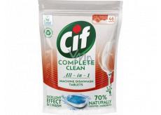 Cif All in 1 Regular tablety do umývačky riadu 46 kusov