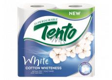 Tento Cotton Whiteness toaletný papier biely 2 vrstvový 156 útržkov 4 kusy