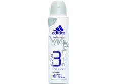 Adidas Action 3 ProClear antiperspitant deodorant sprej pro ženy 150 ml
