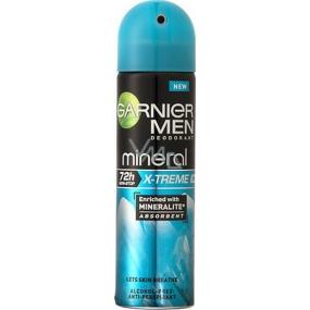 Garnier Men Mineral X-Treme Ice antiperspirant deodorant sprej pro muže 150 ml