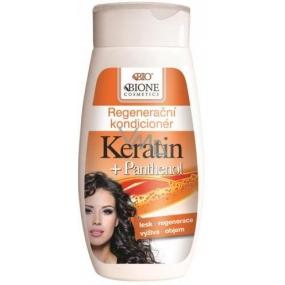 Bione Cosmetics Keratin & Panthenol regenerační kondicionér 250 ml