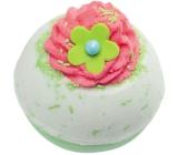 Bomb Cosmetics Jablkovo-malinovej tornádo - Apple + Raspberry Swirl Šumivý balistik do kúpeľa 160 g