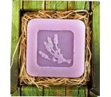 Bohemia Gifts Levanduľa ručne vyrábané toaletné mydlo v krabičke 60 g
