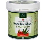 Herbamedicus Konská masť s kanabisom hrejivá 250 ml
