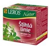 Leros Natur Slim Linea Tea Štíhla línia bylinný čaj 20 x 1,5 g