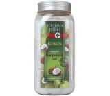 Bohemia Gifts & Cosmetics Kokos soľ do kúpeľa s kokosovým olejom 900 g