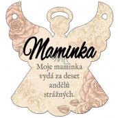Albi Závesná plaketka anjel Mamička 9 x 10 cm