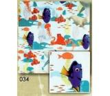 Nekupto Baliaci papier vianočné pre deti Dory 0,7 x 2 m 034 BLI