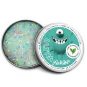 EP Line Inteligentná Ultra plastelína svietiace v tme s vôňou Zeleného čaju as glitrami 80 g