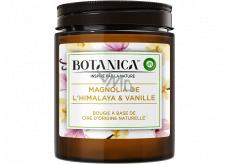 Air Wick Botanica Vanilka a himalájska magnólie vonná sviečka sklo, doba horenia až 40 hodín 205 g