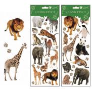 Room Decor Samolepky Zoo 30 x 12 cm náhodný výber