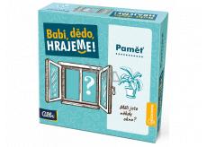 Albi Babi, dedo, hráme Pamäť vedomostná hra odporúčaný vek 8+