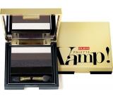 Pupa Vamp Palette paletka očních stínů 001 Smoky Black 4 g