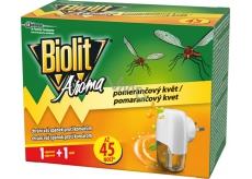 Biolit Aróma Elektrický odparovač s vôňou pomaranča proti komárom 45 nocí strojček + náplň 27 ml