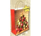 Nekupto Darčeková Kraftová taška vianočné 517 L-WKL