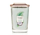 Yankee Candle Shore Breeze - Morský vánok sójová vonná sviečka Elevation veľká sklo 2 knôty 553 g
