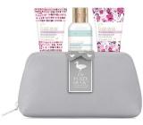Baylis & Harding Lesné zvonček a Kvetinová lúka sprchový krém 100 ml + telové mlieko 50 ml + krém na ruky 50 ml + toaletná taška, kozmetická sada