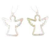 Anjel plastový závesný 6 cm 2 kusy