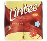 Linteo Classic toaletní papír žlutý 2 vrstvý 200 útržků 4 kusy