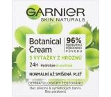 Garnier Skin Naturals Botanical Cream s výťažkami z hrozna 24h hydratačný denný krém normálna a zmiešaná pleť 50 ml