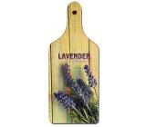 Bohemia Gifts & Cosmetics Dekorativní prkénko Lavender Provence s originálním potiskem D1 28 x 12 cm